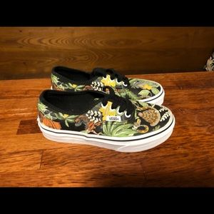 Disney Jungle Book VANS shoes 13.5